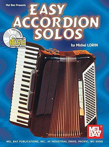 Easy Accordion Solos Book and CD
