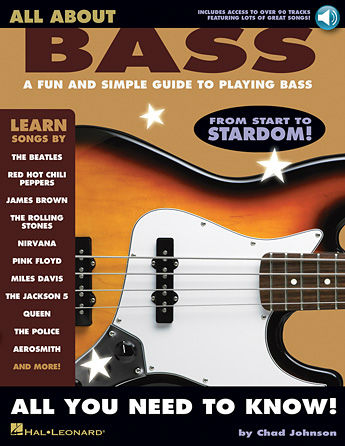 All About Bass Book and Online Audio