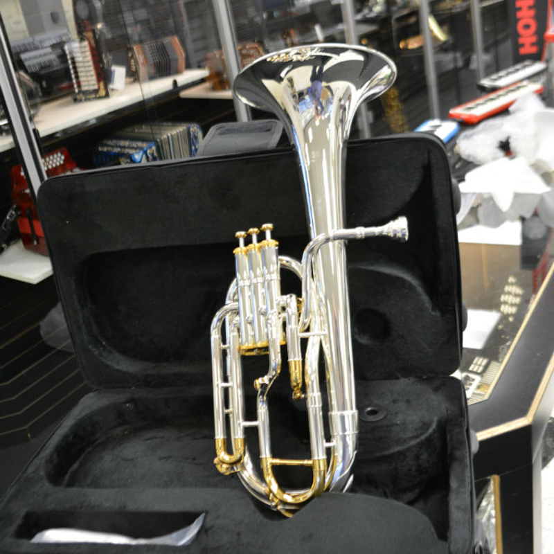 Schiller Frankfurt Elite Alto Horn - Silver and Gold