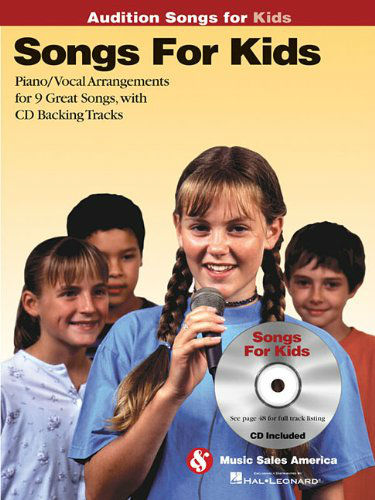 Songs for Kids – Audition Songs Book and CD