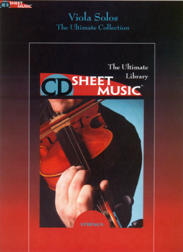 Viola Solos - The Ultimate Collection - CD Sheet Music Series - CD-ROM
