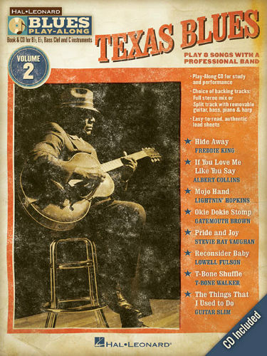 Texas Blues - Blues Play-Along Volume 2 - Blues Play-Along Series