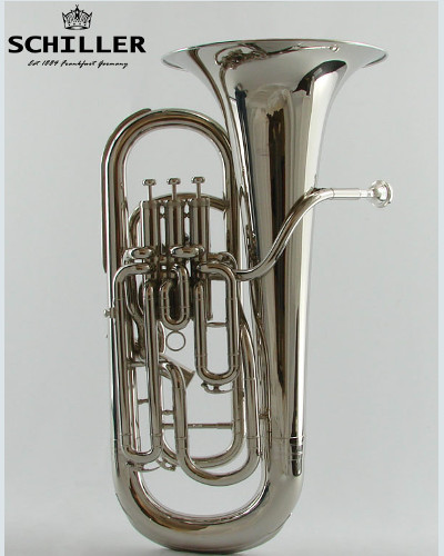 Schiller Elite Compensating Nickel Euphonium