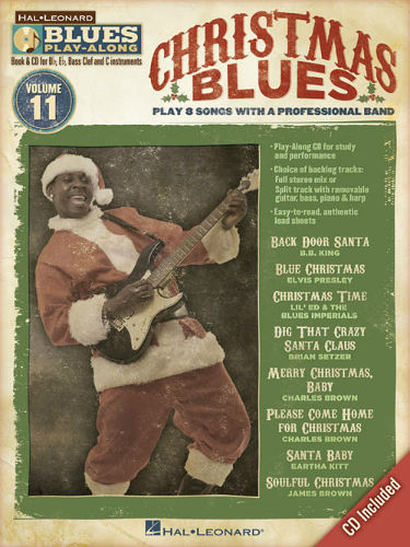 Christmas Blues - Blues Play-Along Volume 11 - Blues Play-Along Series
