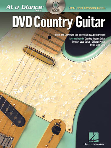 Country Guitar Book and DVD