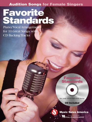 Favorite Standards – Audition Songs for Female Singers Book and CD