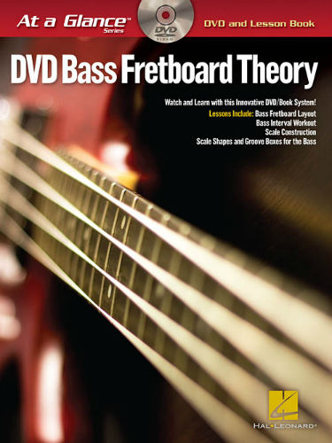 Bass Fretboard Theory Book and DVD