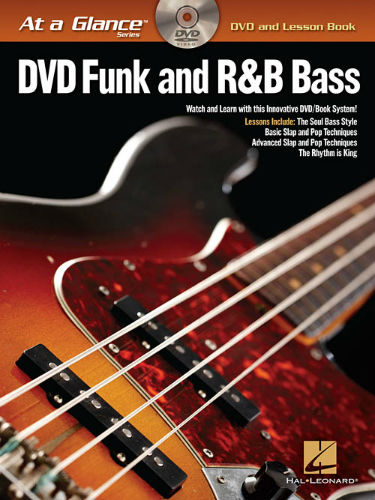 Funk and R&B Bass Book and DVD