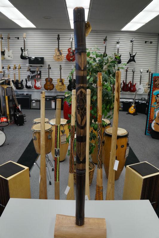 Didgeridoo Bamboo Geschnitzt (Carved)