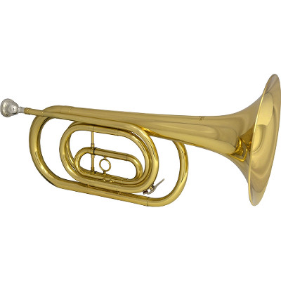 Schiller Ceremonial Aristicrat Bb Big Bell Bugle HSQ-265