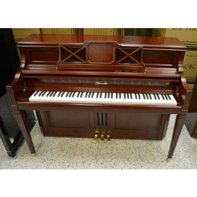 Ritmuller 110 Decorator Console Piano Cherry Finish