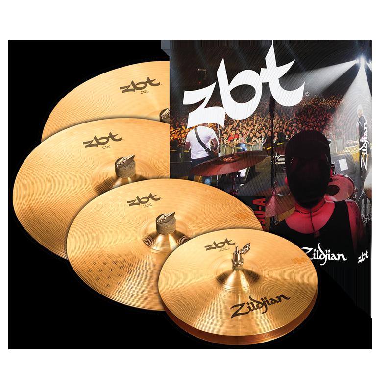 Zildjian ZBT 5 Cymbal Set