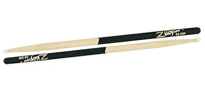 Zildjian 5A Nylon Tip BLACK DIP Drumstick