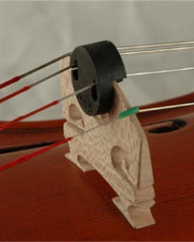 Carlo Robelli Tourte Style Round Violin Mute