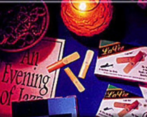 La Voz Alto Saxophone Reeds (Assorted Strengths) Box of 10