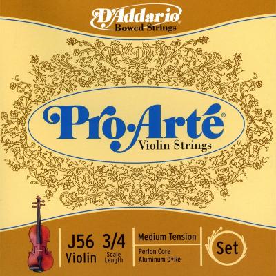 D Addario Pro Arte 3/4 Violin String Set