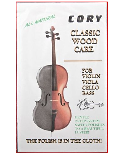 Cory Violin, Viola, Cello and Bass Polishing Cloth