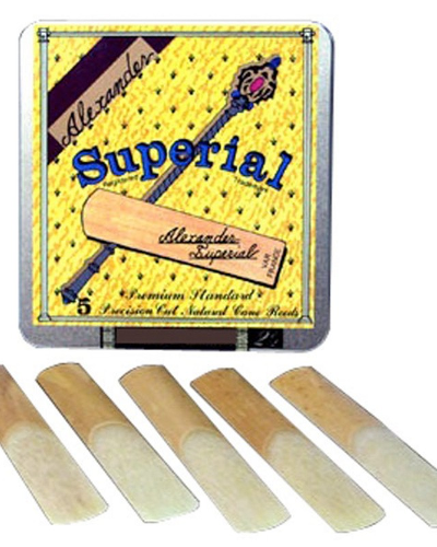 Alexander Superial Alto Saxophone Reeds (Assorted Strenghts)