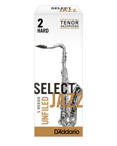 Rico Select Jazz Filed Tenor Saxophone Reeds (Various Strengths)(Box of 5)