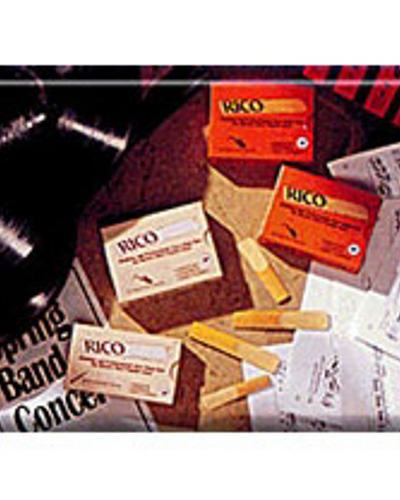 Rico Baritone Saxophone Reeds (Assorted Strengths)