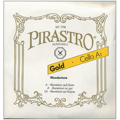 Pirastro Gold Cello Strings ( A )