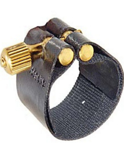 Rovner Dark Rubber Bass Saxophone Ligature