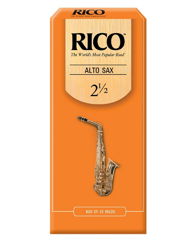 Rico Alto Saxophone Reeds (Assorted Strengths) (Box of 25)