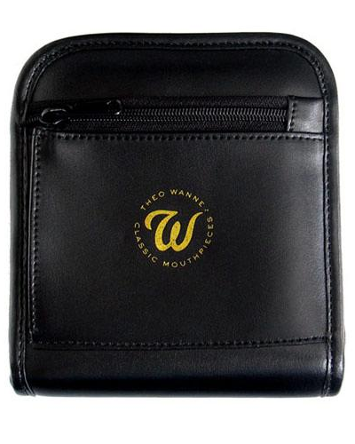 Theo Wanne Leather Pouch Double Mouthpiece Case