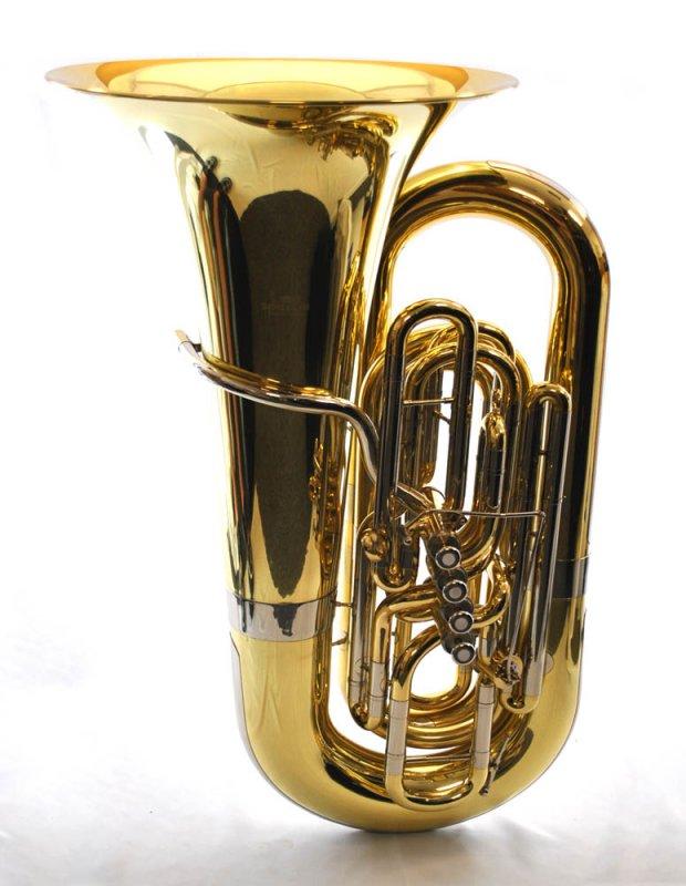 Schiller American Heritage BBb 5 Valve Piston Compensating Tuba - Brass