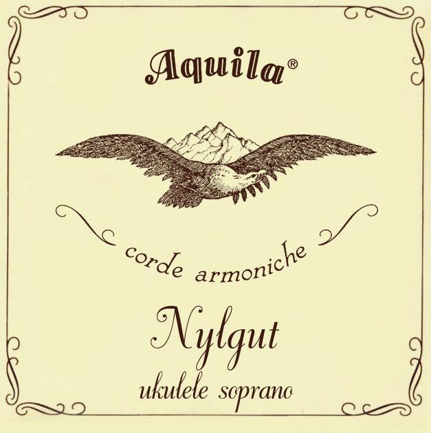 Aquila 4U Nylgut Soprano Regular Tuning Ukulele Strings