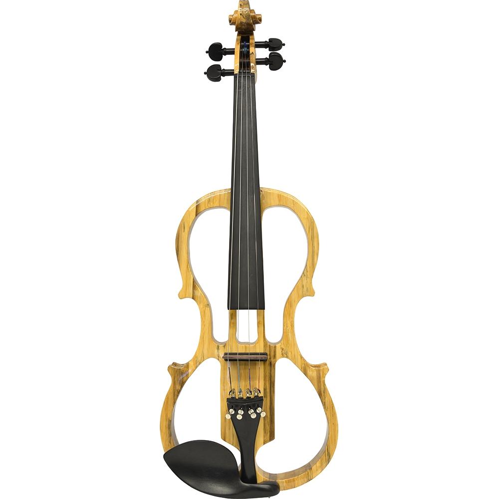 Vienna Strings Takayama Carved Bamboo Electric Violin
