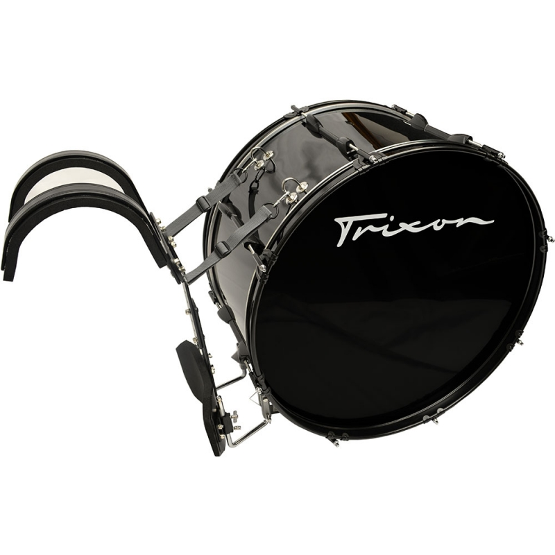Trixon Marching Bass Drum 20x12 black