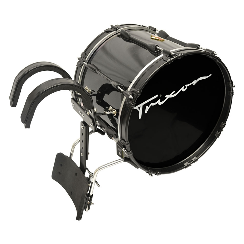 Trixon Pro Marching Bass Drum 20x14 black