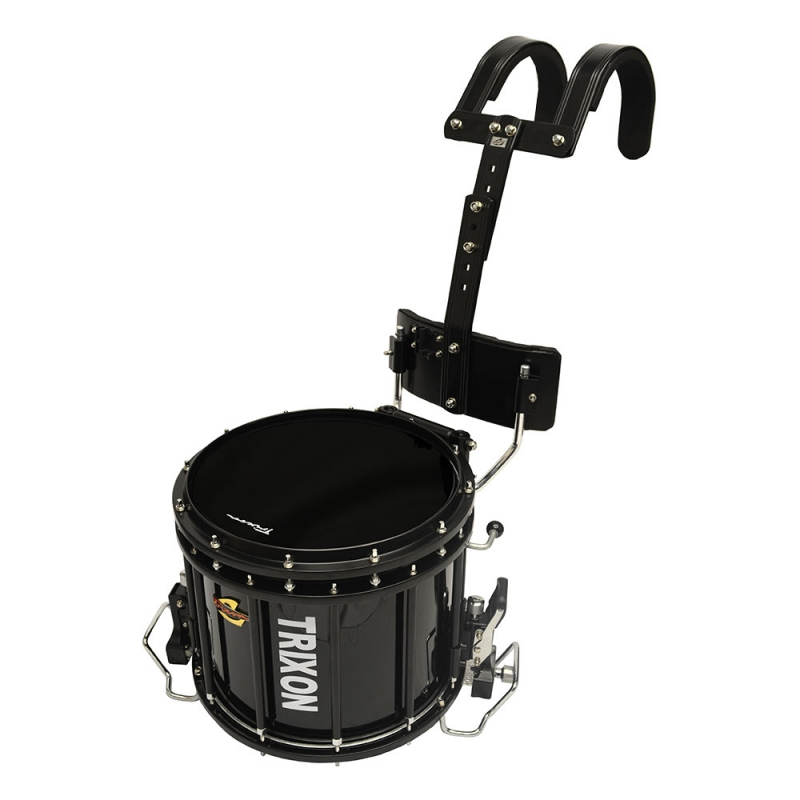 Trixon Pro Marching Snare 14x12 - Black