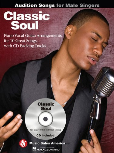 Classic Soul – Audition Songs for Male Singers Book and CD