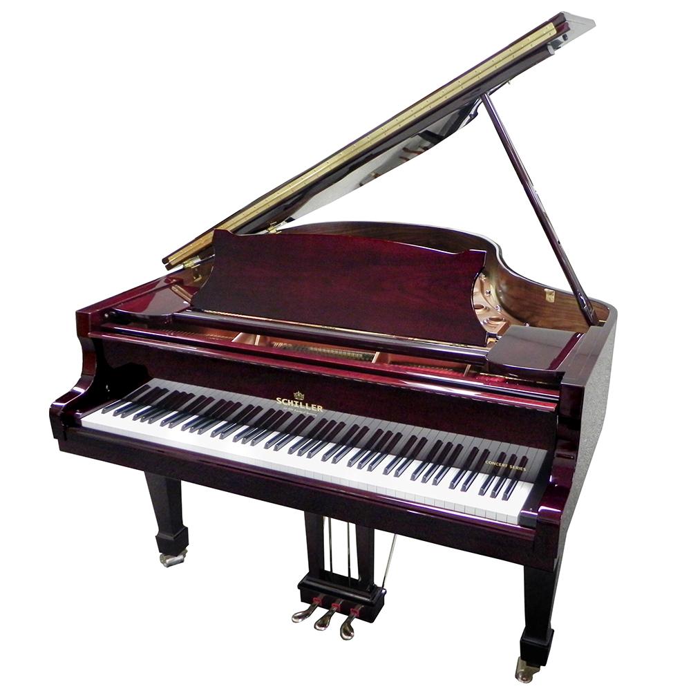 Schiller Concert 5.10 Grand Piano - Mahogany Polish
