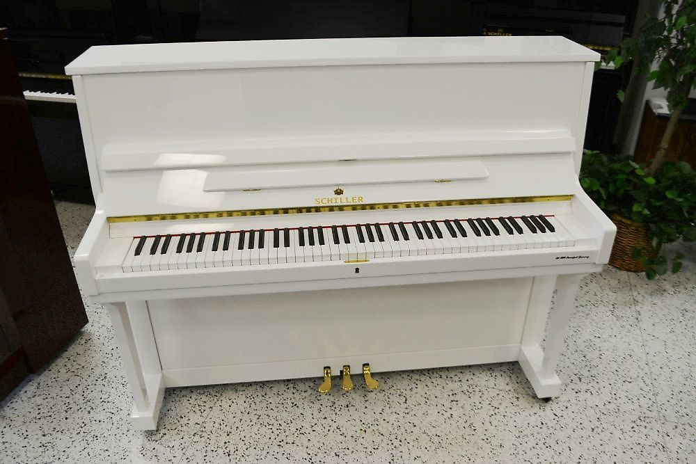 Schiller Frankfurt Performance Upright - White Polish