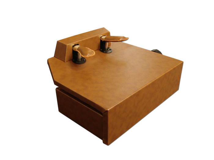 Frederick Piano Pedal Assistant Lift - Walnut