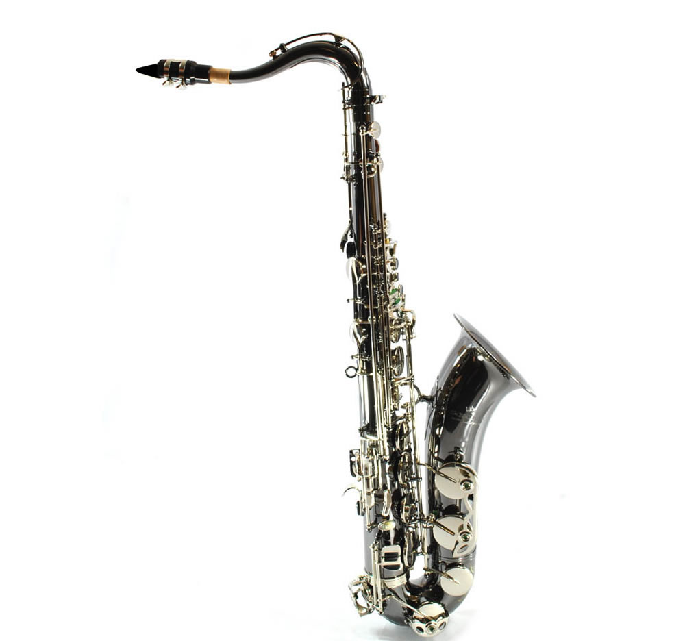 Schiller Elite IV Tenor Saxophone - Black Nickel-Silver