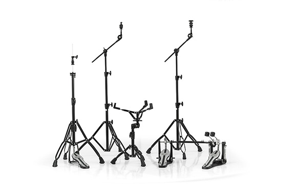 Mapex Mars 600 Hardware Pack Double Pedal Black Plated - HP6005EB-DP