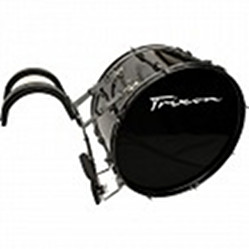 Trixon Marching Bass Drum 24x12 black