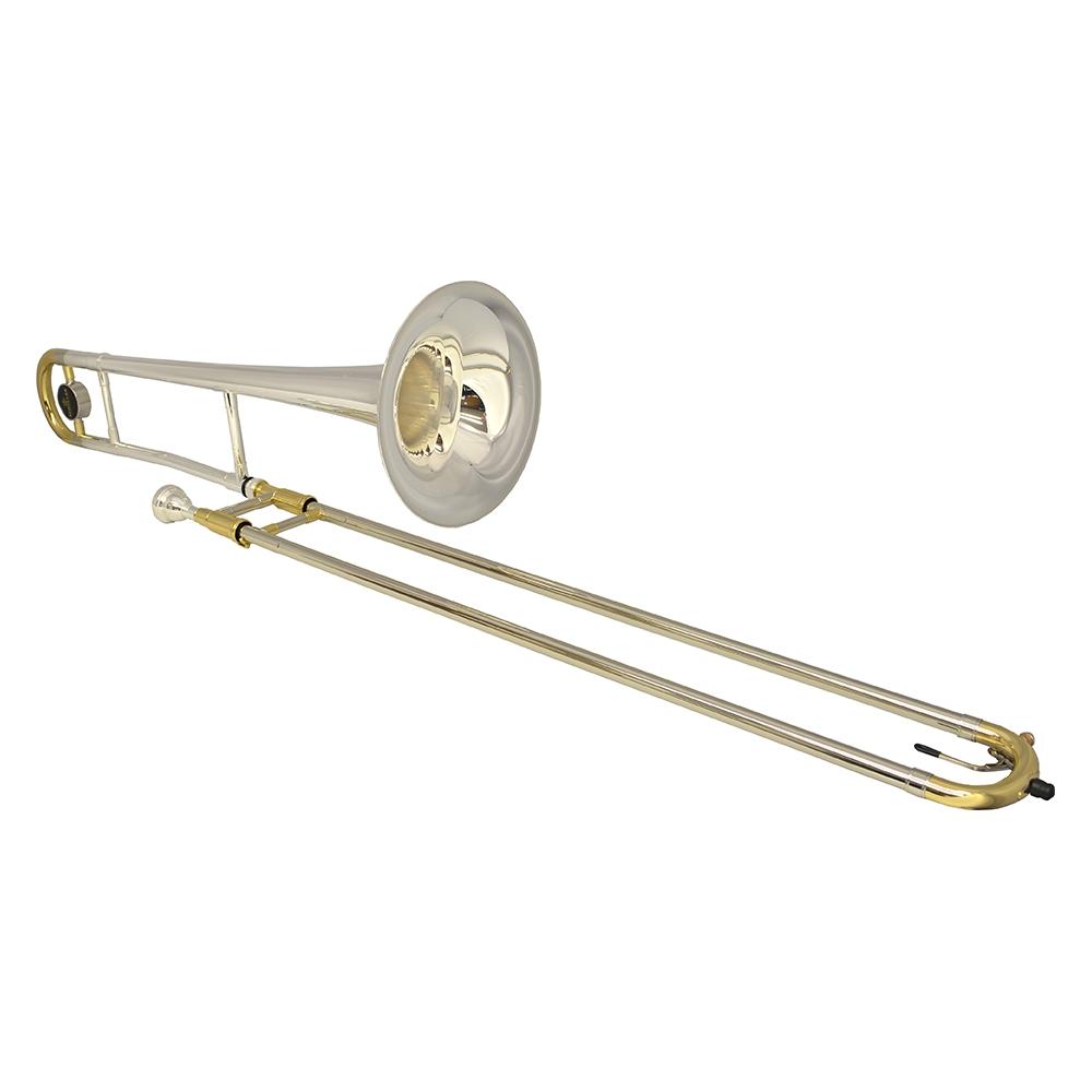 Schiller Studio 500 Silver Plated & Gold Trombone