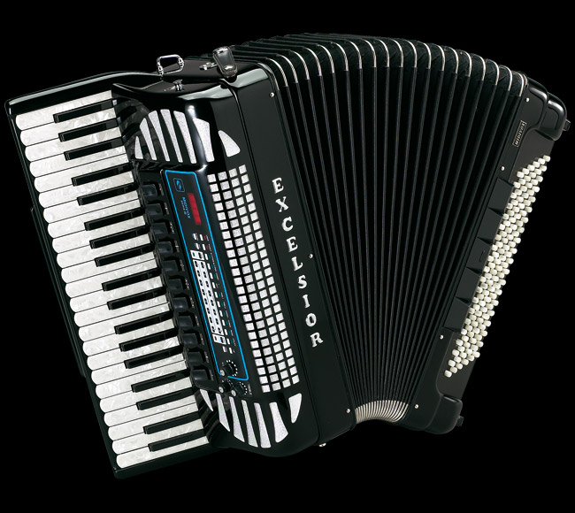 Excelsior MIDIVOX Evolution Piano Accordion