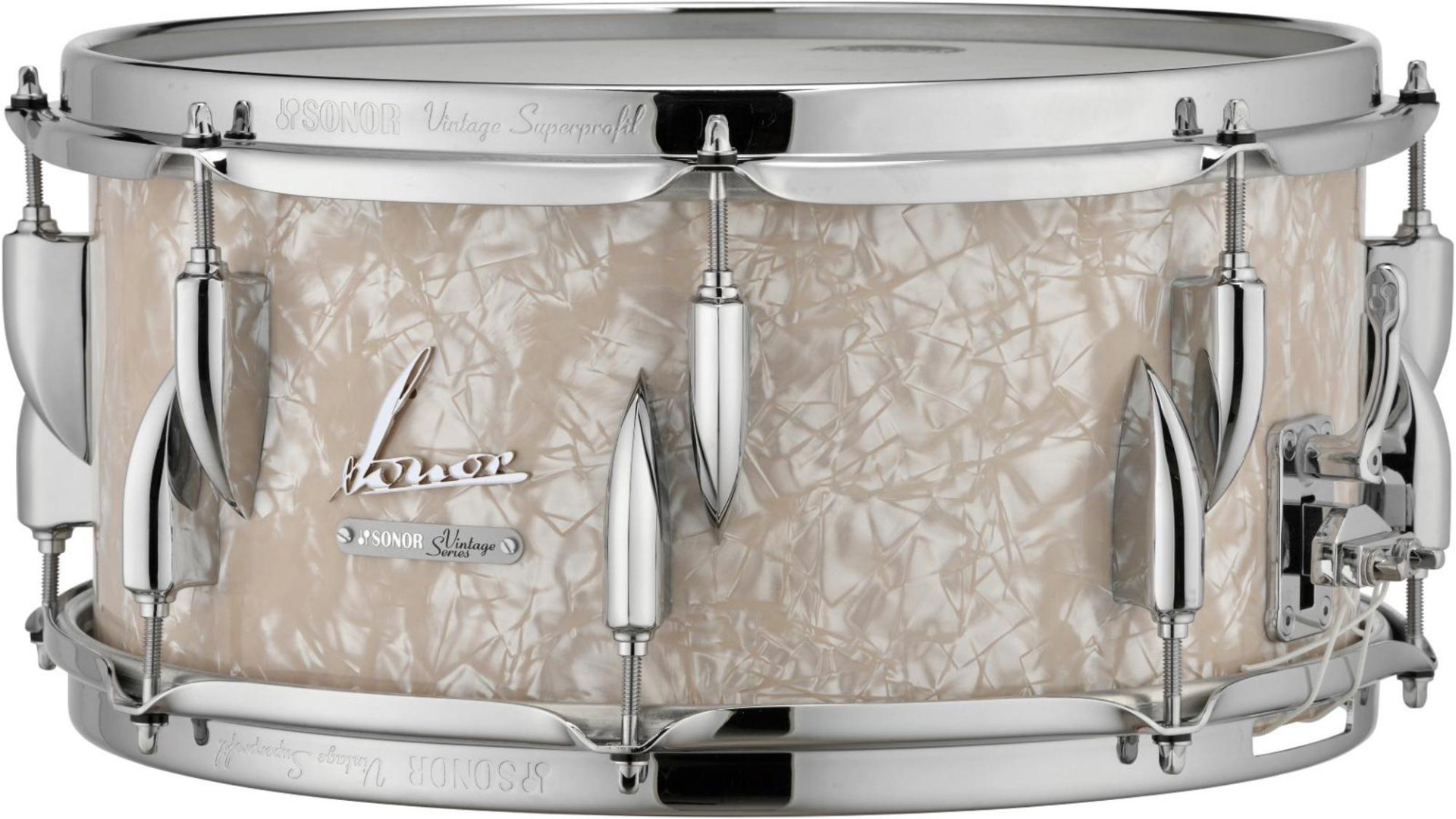 Sonor Vintage Series Snare Drum 14 x 6.5 in. Vintage Pearl