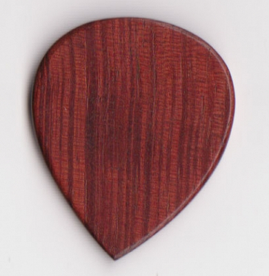 Thicket Wooden Guitar Pick - Padauk - Pack of 3 - Heavy