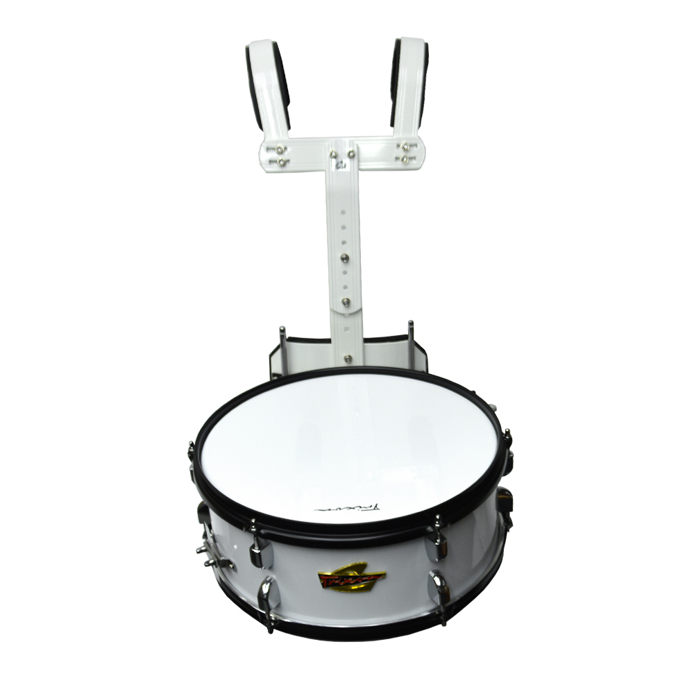 Trixon Scholastic Marching Snare 14x5.5 - White Polish