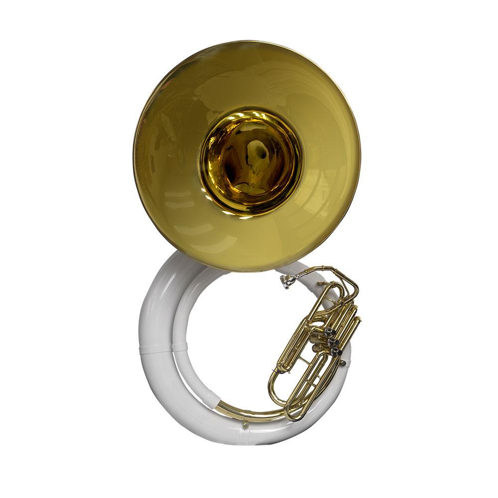 Schiller American Heritage Sousaphone - Fiberglass with Gold Brass Bell