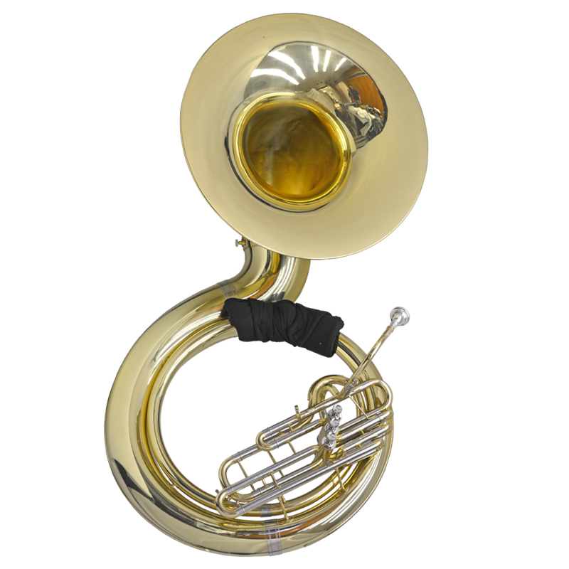 Schiller American Heritage BBb Sousaphone - Gold Lacquer