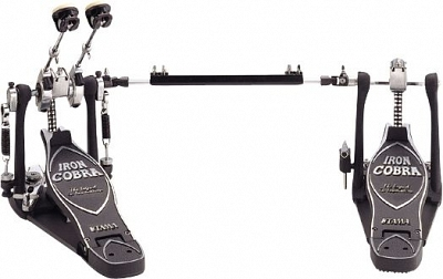 Tama Left-Handed Power Glide Twin Pedal HP900PTWL
