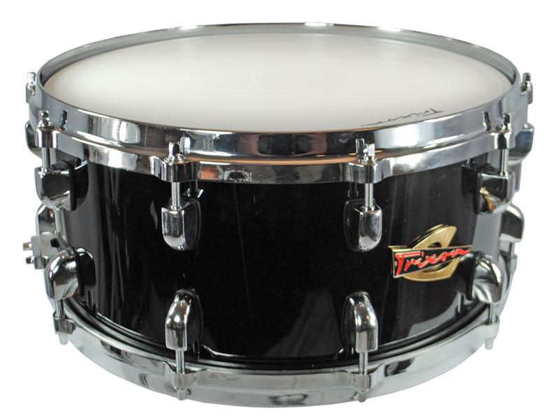Trixon Soloist Elite Snare Drum Black Die Cast